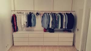 Schlafzimmer Ideen Schrank Offener Kleiderschrank Hej De