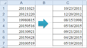 date format how to convert yyyymmdd to normal date format in excel