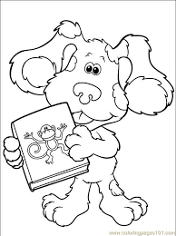 blues clues 026 4 coloring free printable coloring pages