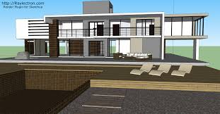Home Design Using Google Sketchup by Modern House Softbytelabs Com
