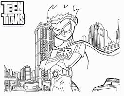 exercise free coloring pages of teen titans go reading teen