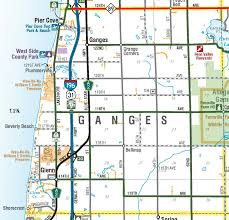 Allegan Michigan Map by Township Maps Allegan County Road Commission