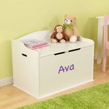 Toy Box Ideas Amazon Com Modern Touch Personalized Toy Box For Girls Vanilla