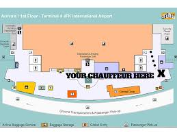 Jfk Map Jfk Terminal 4 How To Survive Luxury Ride Nj Transportation
