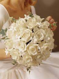 Stephanotis Flower Graceful Rose U0026 Stephanotis Scented Bridal Bouquet