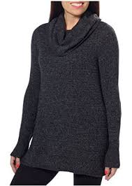 black sweater womens dkny womens tunic cowl neck pullover sweater black