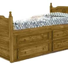Twin Captains Bed With Drawers Rustic Twin Bunk Bed W Texas Star U2013 Dark Chubby U0027s Mattress