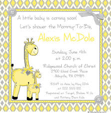 yellow and gray baby shower bright giraffe baby shower invitations yellow chevron