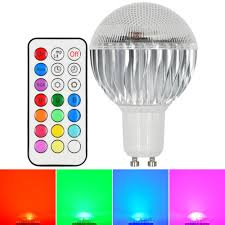 Remote Controlled Light Fixture by Mengsled U2013 Mengs Gu10 8w Led Rgb Light 16 Colour Changing Smd