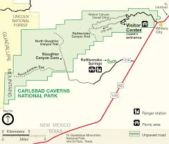 Map Of Albuquerque New Mexico by Carlsbad Caverns Maps