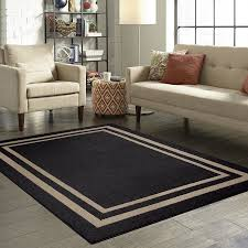 Area Rug Images Mainstays Frame Border High Low Loop Area Rug Or Runner