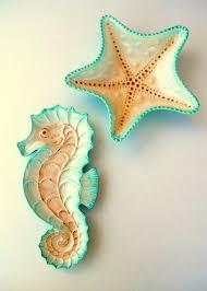 starfish platter decorative ceramic sea starfish bowl and sea dish set