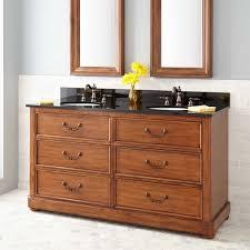 Bathroom Double Sink Vanities 60 Inch by Wood Double Sink Vanity Signature Hardware
