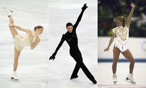 best olympic ice skating costumes glamour