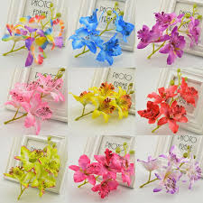 Artificial Flower Decorations For Home Online Get Cheap Fake Orchids Aliexpress Com Alibaba Group