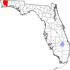 Milton Florida Map by National Register Of Historic Places Listings In Santa Rosa County