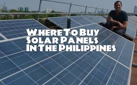 buy your own solar panels where to buy solar panels in the philippines