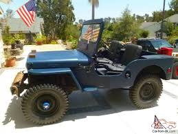 custom willys jeepster willys cj 2