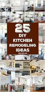 diy kitchen remodel ideas 25 inspiring diy kitchen remodeling ideas that will frugally