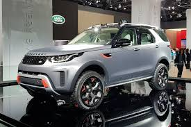discovery land rover 2017 black land rover discovery svx revealed in pictures by car magazine