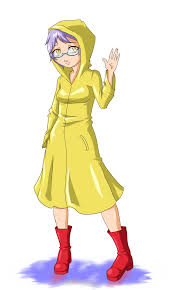 Yellow Raincoat Girl Meme - commission nameless raincoat girl by rocatart on deviantart