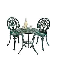 Argos Bistro Table Ascot 2 Seater Cast Aluminium Patio Set J D Williams
