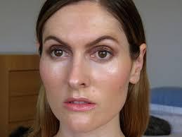 editorial makeup organic natural skin messy brows u0026 dewy lips