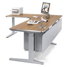 Schreibtisch Winkelkombination Schritt 3 Schreibtisch Füße Ergonomiearbeitsplatz Imodul Selbst