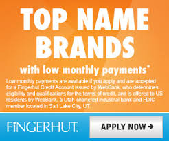shopping with fingerhut credit account at