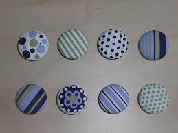 diary of a crafty lady hand painted dresser drawer knobs
