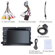 pure android 7 1 1 quad core dvd gps in dash radio system for 2007