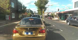 bmw e60 gold gold wrapped bmw m5 shitty car mods
