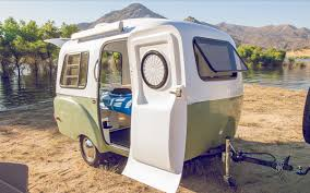 retro campers this retro camper trailer was inspired by vintage design curbed