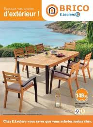 table salon de jardin leclerc table salon jardin leclerc