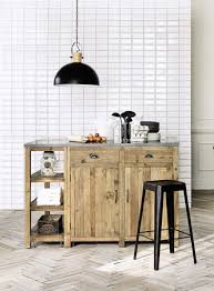 maisons du monde cuisine meubles de cuisine indépendant et ilot maison du monde