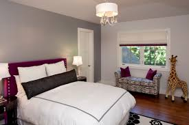 purple headboard ideas for girls with popular wall paint color