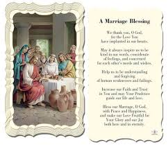 catholic shop online a marriage blessing holy card catholic online and blessings
