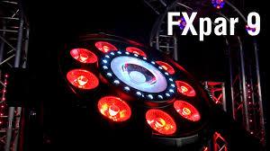 chauvet dj fxarray q5 effect light fxpar 9 by chauvet dj youtube