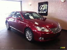 car picker red lexus es