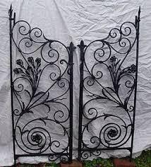 best 25 wrought iron garden gates ideas on wrought