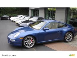 porsche carrera 2007 2007 porsche 911 carrera 4s coupe in cobalt blue metallic photo 5