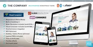 the company responsive multi purpose theme wordpress
