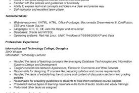 Sample Resume For Assistant Professor In Engineering College Pdf by Sample Resume For Lecturer Job In Engineering College