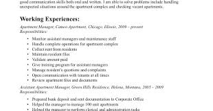 Property Management Resume Samples by Property Manager Resume Condominium Property Manager Resume