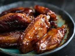 cuisiner des ailes de poulet recette des ailes de poulet au bourbon et sirop d érable