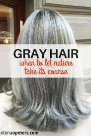 silver hair with blonde lowlights grey hair how to grow out your grey hair san jose ca going gray