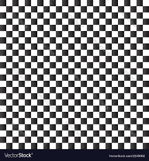 Chess Board Design Checkered Flag Background Seamless Chessboard Vector Image