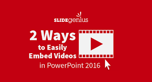 embed videos in powerpoint 2016 2 easy ways to do it