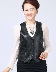 popular leather vest women u0026 39 buy cheap leather vest women u0026 39