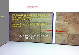 How To Fix A Piece Of Laminate Flooring How To Build A Wall Using Laminate Flooring The Home Depot Community